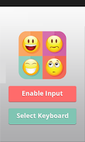 Screenshot of Emoji Smiley Keyboard Ad Free