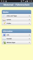 Screenshot of Motorrad - Führerschein 2015