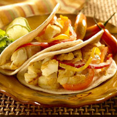 Fish Tacos With Bell Pepper Slaw