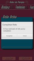 Screenshot of Juego Erótico Para Parejas