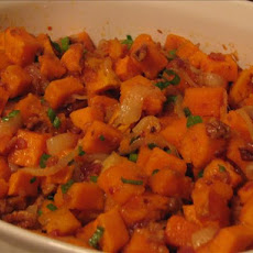 Hot Sweet Potato Salad