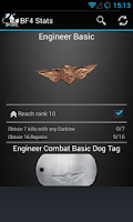 Screenshot of Battlefield BF4 Stats