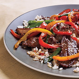 Spicy Beef and Bell Pepper Stir-Fry