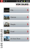 Screenshot of L.A.: VOK DAMS City Guide