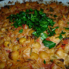 Creamy Chickpea and Tahini Casserole