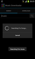 Screenshot of Music Downloader