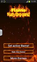 Screenshot of Flame Keyboard