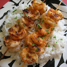 5 Minute Thai Shrimp Satay