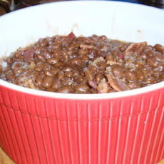 Maple Onion Baked Beans
