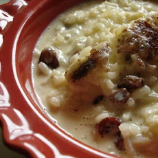 Rice Pudding With Cream