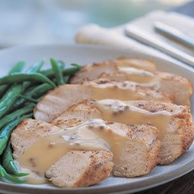 Pan-Seared Chicken with Mustard Sauce