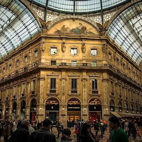 Galleria Vittorioemanuele II by Kean Low - Buildings & Architecture Public & Historical