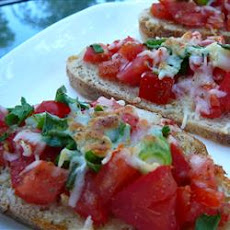 Lazy Bruschetta
