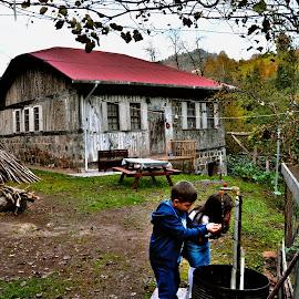 Village Home by Cengiz Tasci - Buildings & Architecture Homes ( home, houses, village, children, children candids )