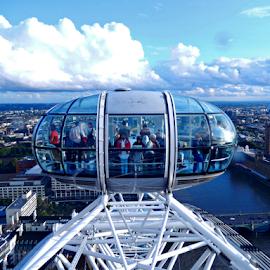 London Eye by Deborah Russenberger - Landscapes Travel ( uk, london )