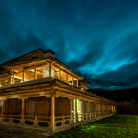Blue Hour Hotel by SooSing Goh - Buildings & Architecture Office Buildings & Hotels ( paro, bhutan, blue hour, naksel, hotel )