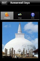 Screenshot of Visit Sri Lanka (Prototype)