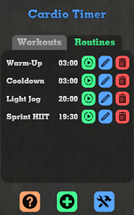 Cardio HIIT Training Timer - screenshot