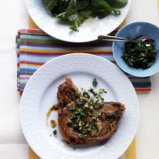 Lemon-Parsley Pork Chops