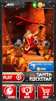 Screenshot of Santa Rockstar
