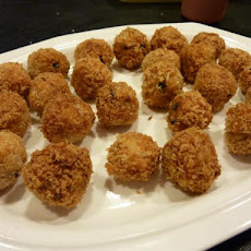 Spiced Chicken and Water-Chestnut Meatballs
