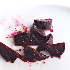 Maple Horseradish Glazed Beets