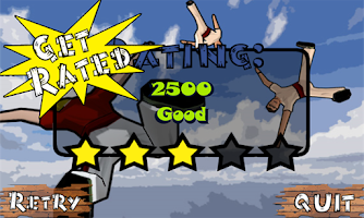 Screenshot of Bull Runner Free