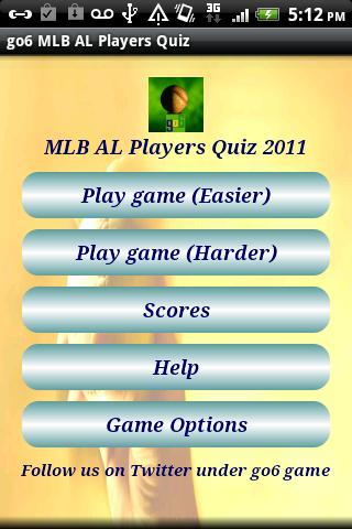 go6 MLB AL Players Quiz Free