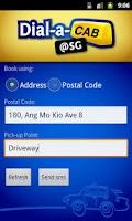 Screenshot of Dial a Cab@SG