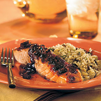 Cranberry-Glazed Salmon