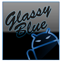 GOKeyboard Theme Glassy Blue icon