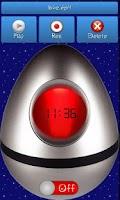 Screenshot of Talking alarm!