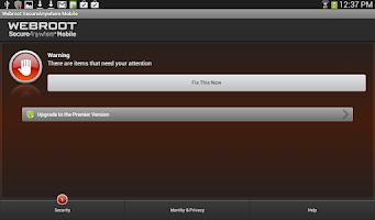 Screenshot of Security - Free