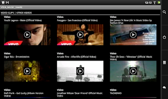 Screenshot of VIVA MUSIC SHARE