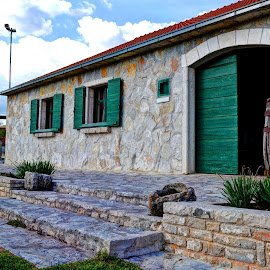 Panj - private property by Vedrana Vidovic - Buildings & Architecture Homes ( d3100, stone, panj, homes )