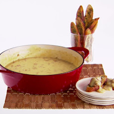 Beer and Italian Sausage Fondue