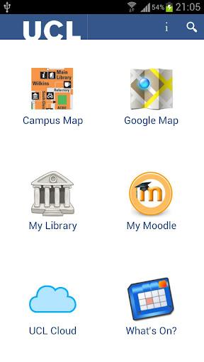 UCLキャンパスマップ