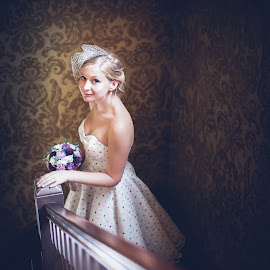 Laura by Paul Eyre - Wedding Bride ( bridal, married, editorial, vintage, wedding, retro, bride, classic )