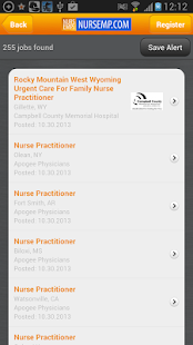 Nursing & Allied Health Jobs - screenshot