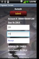 Screenshot of Tycoon Sangrahana Banking