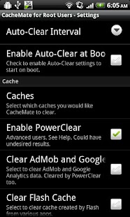 CacheMate for Root Users - screenshot