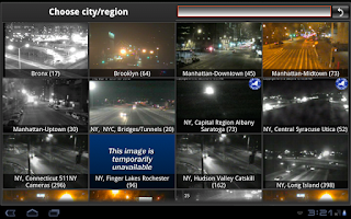 Screenshot of Cameras NYC New York