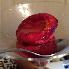 Spicy Oven-Roasted Plums