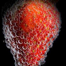 Strawberry Bubbles 2 by Don Alexander Lumsden - Food & Drink Fruits & Vegetables (  )
