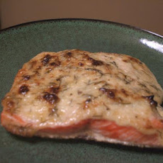 Baked Salmon With Herbed Mayonnaise