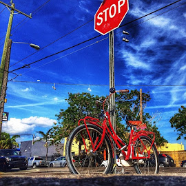 STOP!!! by Nicolas Donadio - Transportation Bicycles