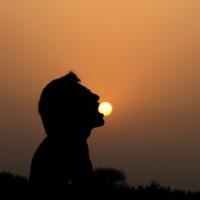 Sun in my mouth by Ashish Singla - Landscapes Sunsets & Sunrises (  )