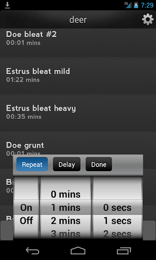 IHunt Calls: 600 hunting calls - screenshot