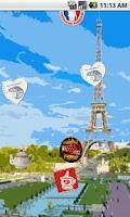 Screenshot of Paris Live Wallpaper FREE