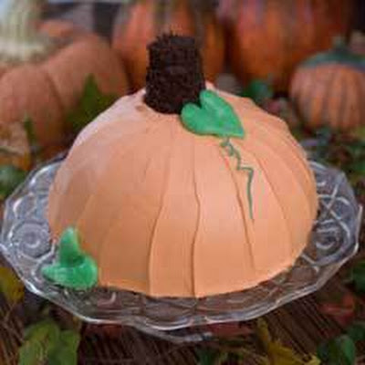 Pumpkin Ice Cream Bombe